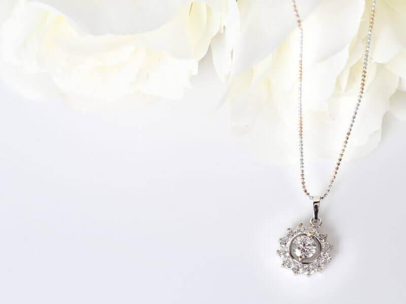 kalung Berlian Elegan